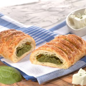 Greek Spinach Strudel with Feta Cheese