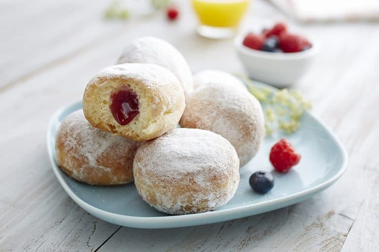 sugar covered french beignets