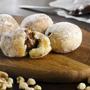 Chocolate Hazelnut Filled Beignets