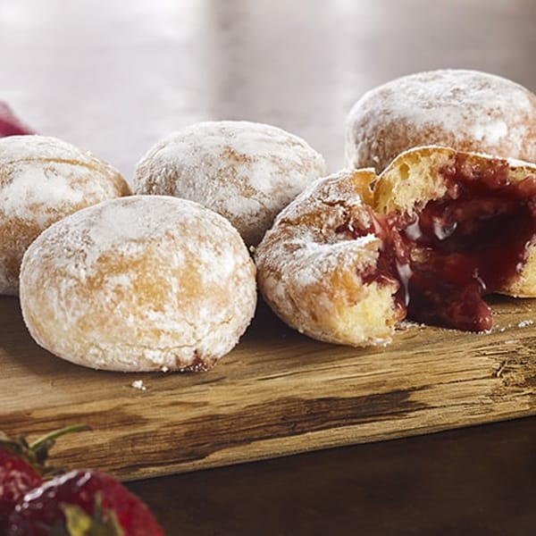 Mixed Berry Filled Beignets