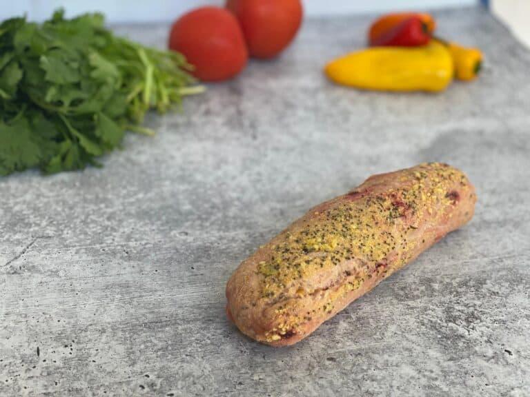 Superfood Beetroot and Pumpkin Seeds Half Baguette