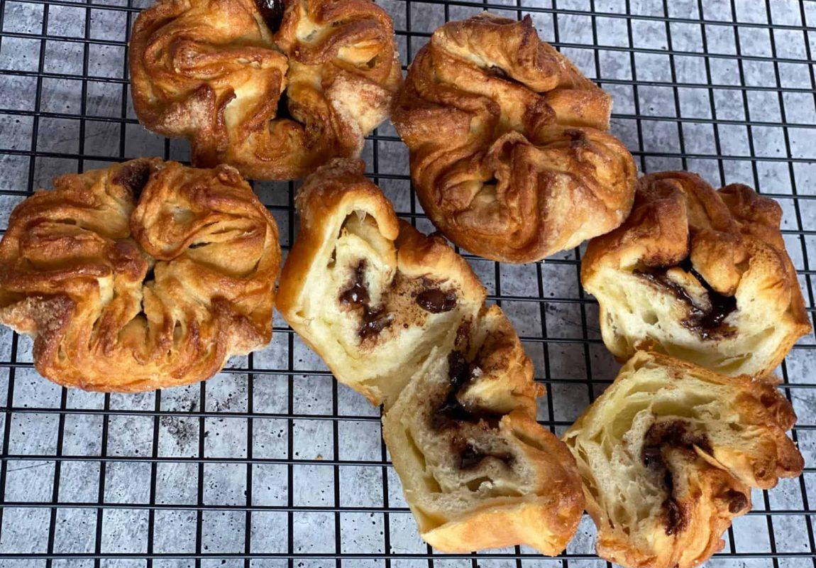 The Queen of Pastries - Kouign Amann- Hazelnut filled