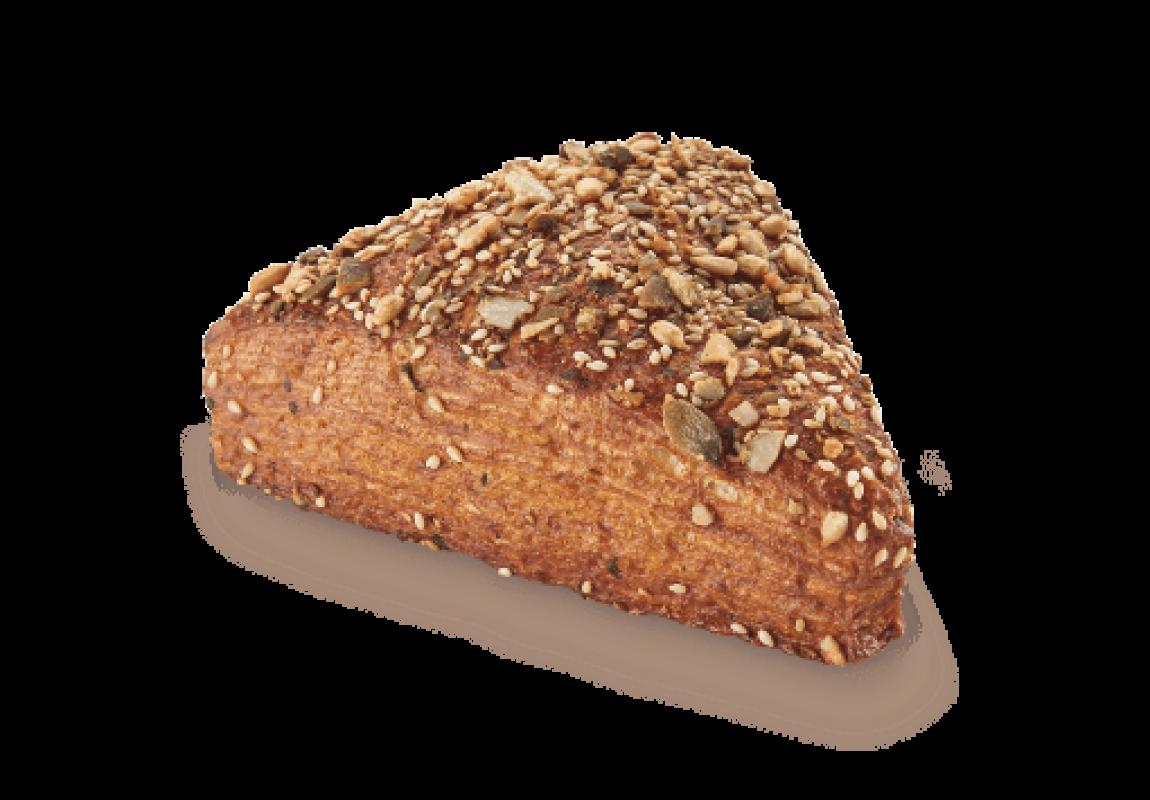 healthy Multi-Grain Triangle Pastry