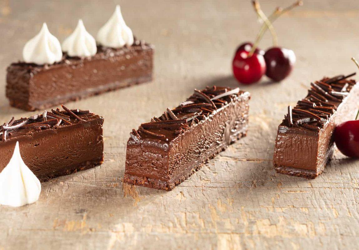 Velvety Chocolate Crispy Strip