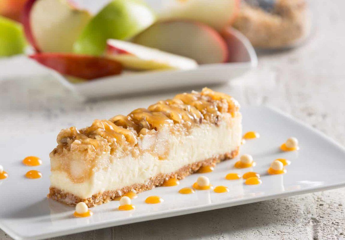 New York Apple Caramel Crispy Strip